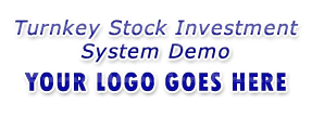 Stock Investment Website Demo - Website Slogan Text Goes Here